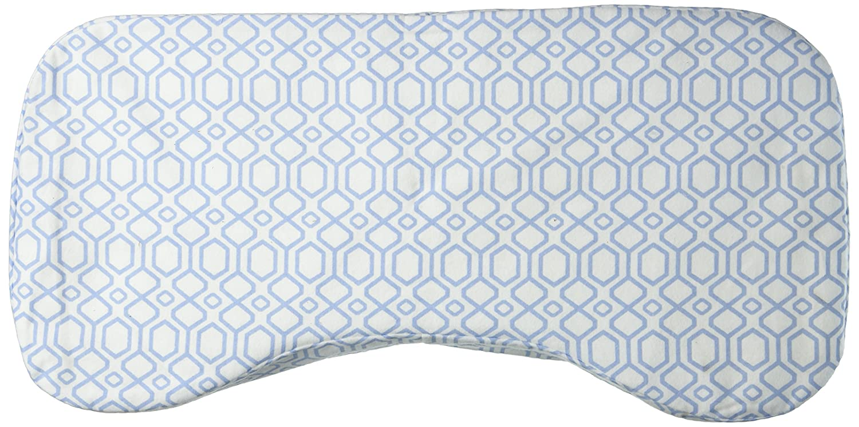 Nursing Pillow  Blue Chevron