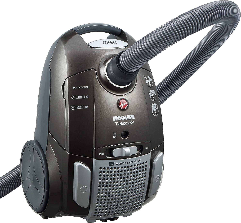 Hoover TE70_TE69 - Aspirador de trineo, bolsa silenciosa, 69 dB, 3,5 L, 9 m, EPA, lavable, parqué, MiniTurbo, moqueta, iones de plata: Amazon.es: Hogar