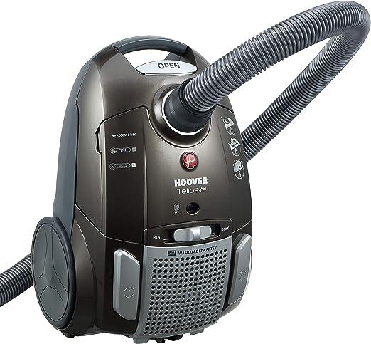 Hoover TE70_TE69 - Aspirador de trineo, bolsa silenciosa, 69 dB, 3 ...