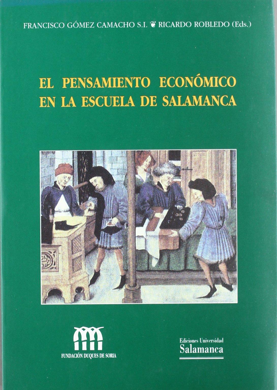 El pensamiento económico de la escuela de Salamanca Estudios ...