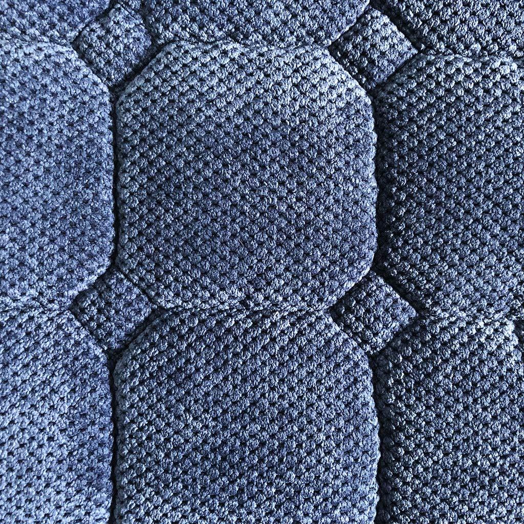 Comodi e Morbidi Quadrati Imbottiture per Sedie SIMPVALE Set di 6 Cuscini per Sedie con Lacci per Patio Giardino Cucina Sala da Pranzo Interni ed Esterni 40x40cm Beige