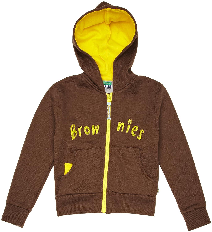 Brownie Hooded Girl's Sweatshirt Brownie Hooded Top