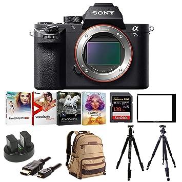 Amazon.com: Sony Alpha A7SII Mirrorless cámara digital w ...