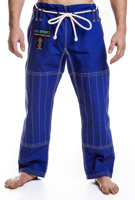 mmasport Kimono BJJ Brazilian Jiu Jitsu gi in 100/% Cotone 450 gr rip Stop Natural Fighting Style Top Italian Quality