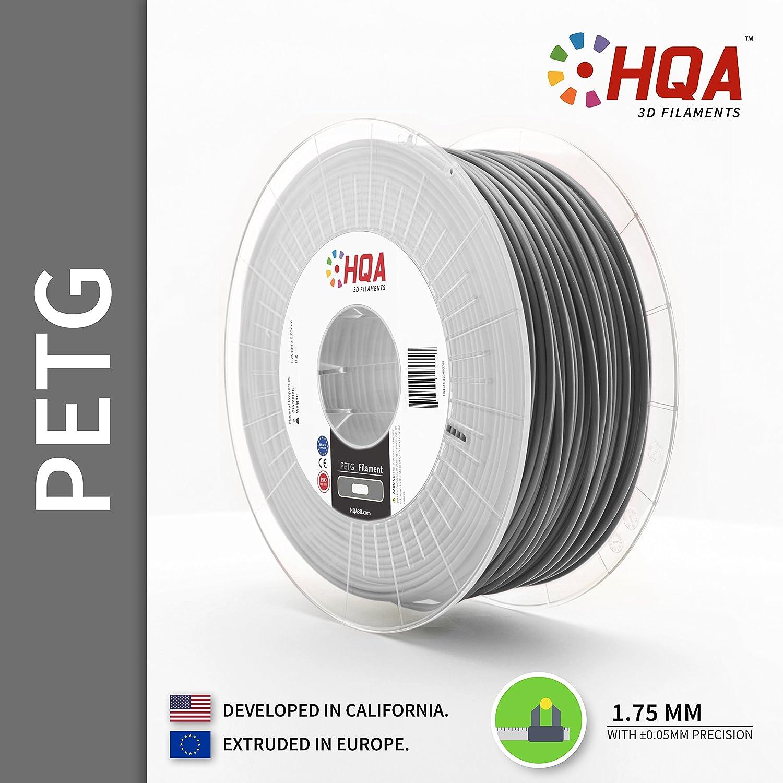 HQA PETG - Filamento de impresora 3D, 1,75 mm, 1 kg, [fabricado en ...