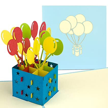PaperCrush® Tarjeta de cumpleaños Pop-Up - Perfecta como ...