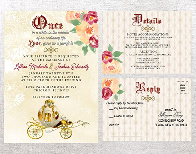 fairytale wedding invitations quinceanera invitation fairy tale wedding invitation fairytale bridal shower invitations