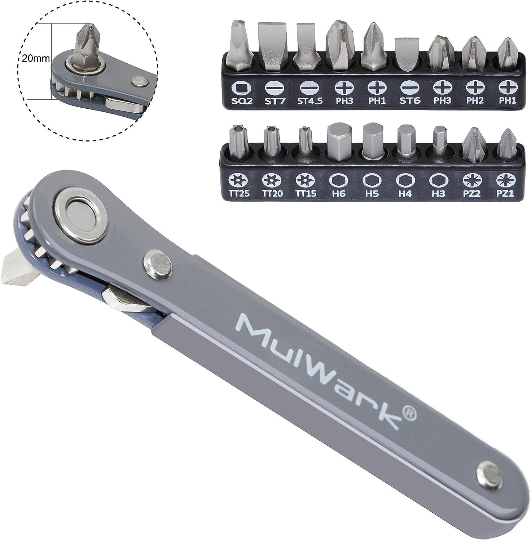 Mini//Short Screw Driver 6mm X 25mm Stubby Slotted Screwdriver