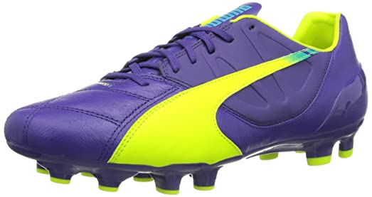 Puma Evospeed 3.3 Fg Lth Purple Yellow