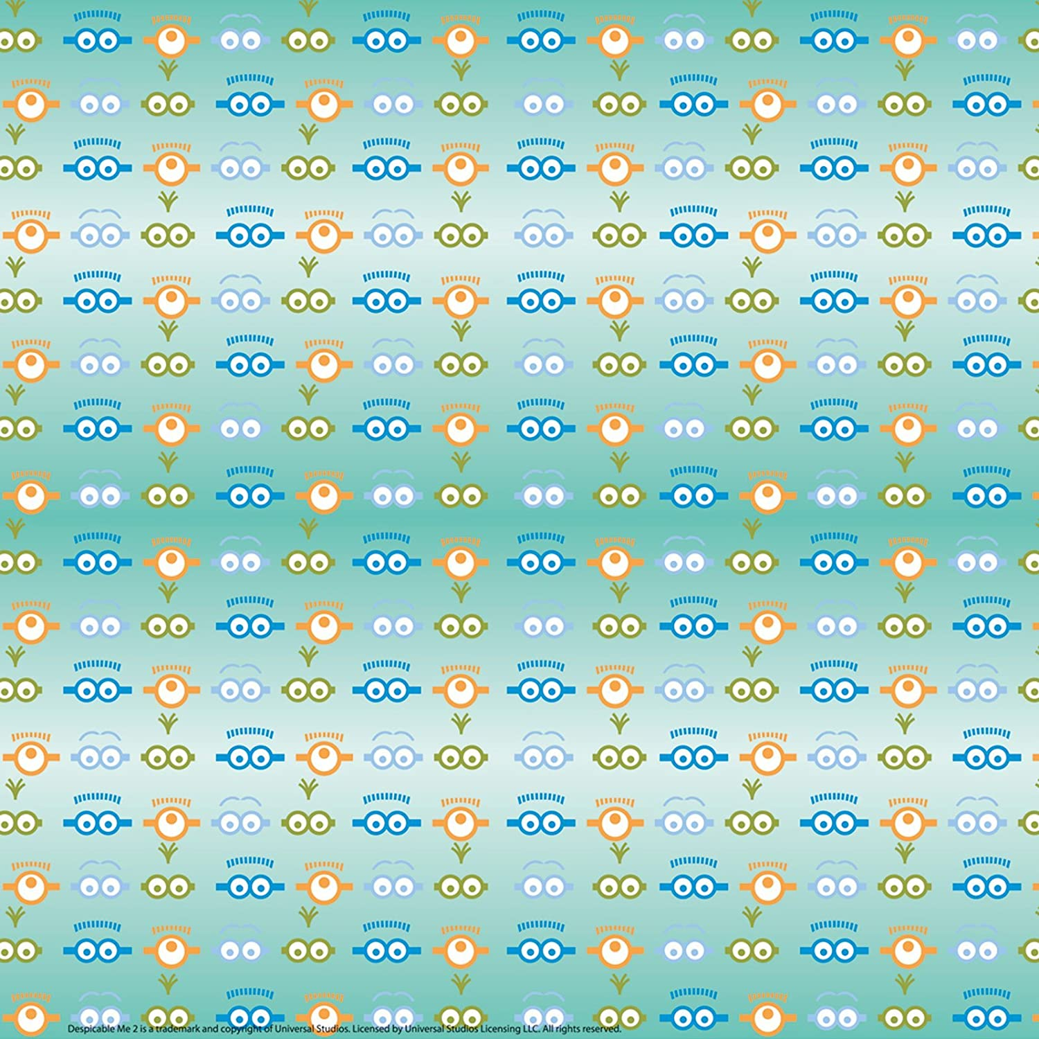 Amazon.com: Despicable Me 2 Off Roll Folded Wrapping Paper (12.5sq ...