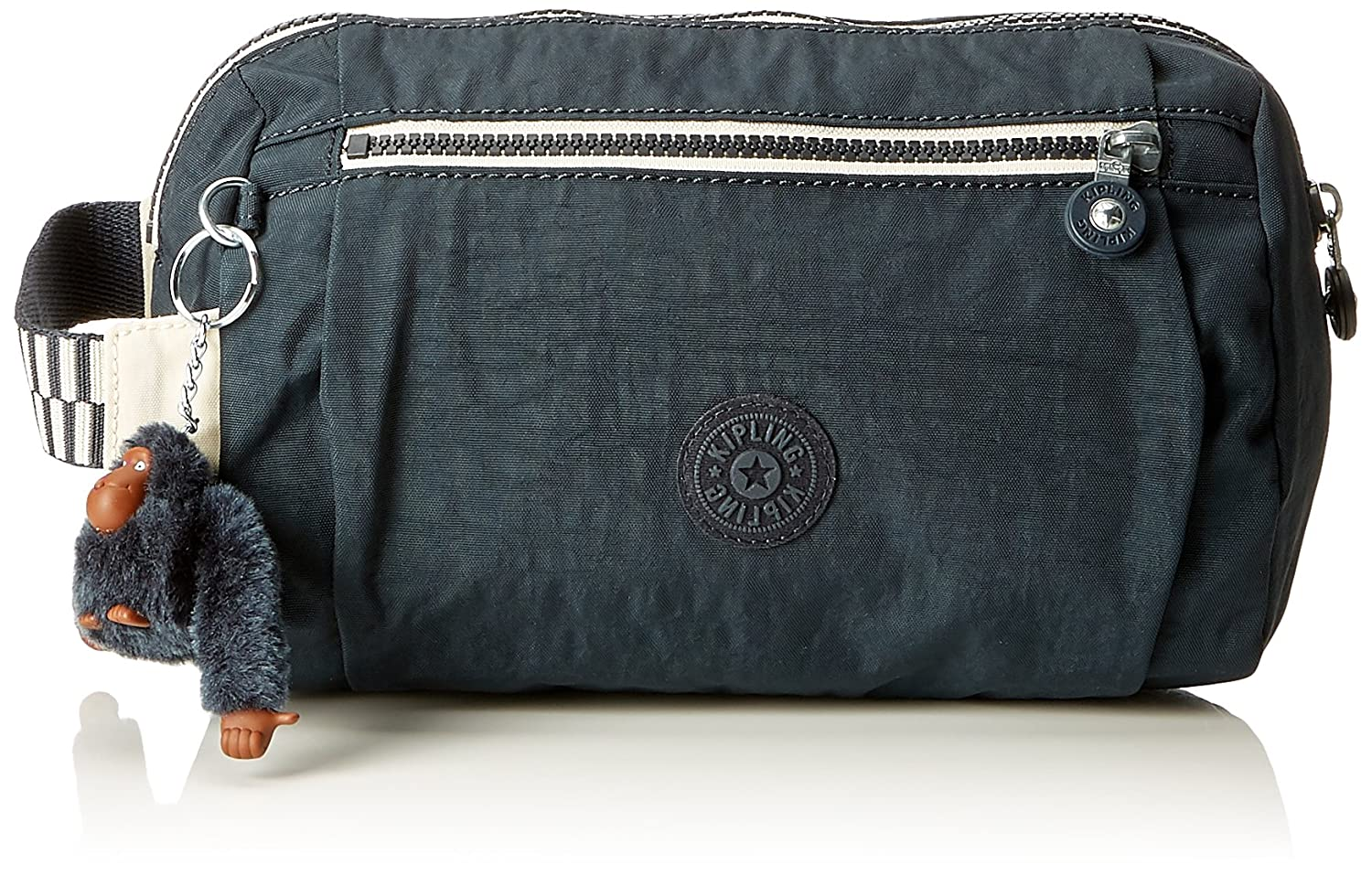 Kipling ANIKI Trousse de toilette, 24 cm, 4.5 liters, Bleu (True Navy Mix) K1777772C