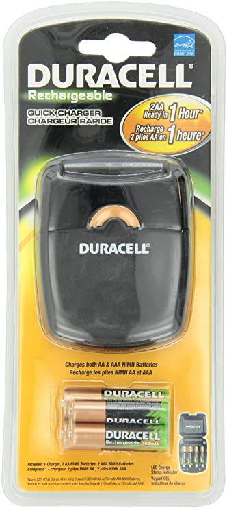 b685cdc97a0 Buy Duracell Rechargeable Quick Charger 1 Count Online at Low Prices in  India - Amazon.in