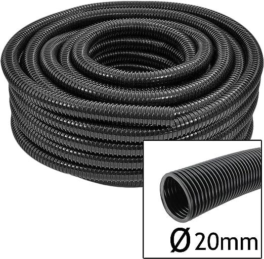 Spares2go Premium calidad 20 mm flexible manguera de estanque de peces bomba de Flexi de tubo (5, 10, 15 o 20 metros de largo): Amazon.es: Jardín