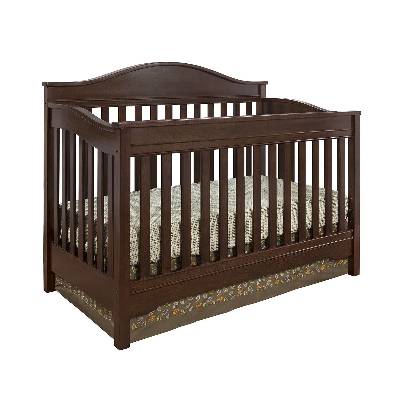 Amazon.: Eddie Bauer Langley Crib, Walnut : Baby
