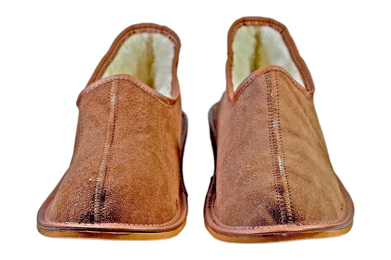Reindeer Leather Mens Darren Winter House Shoes