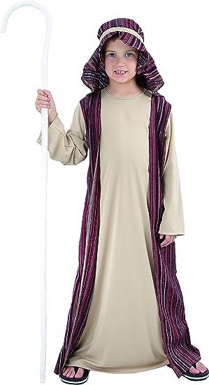 Bambini Costume Pastore 7-9 anni