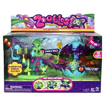 Spin Master Zoobles Blossoming Garden Playset