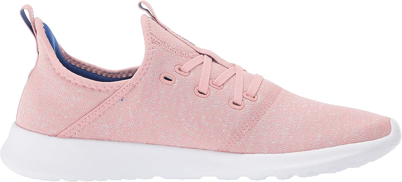 adidas Women's Cloudfoam Pure Running Shoe Pink Spirit/Chalk White