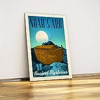 Javvuz - Nuh'un Gemisi - Dekoratif Metal Plaka