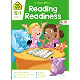 School Zone - Reading Readiness Workbook - 64 Pages, Ages 5 to 7, Kindergarten to 1st Grade, Story Order, Letter Sounds, Matc