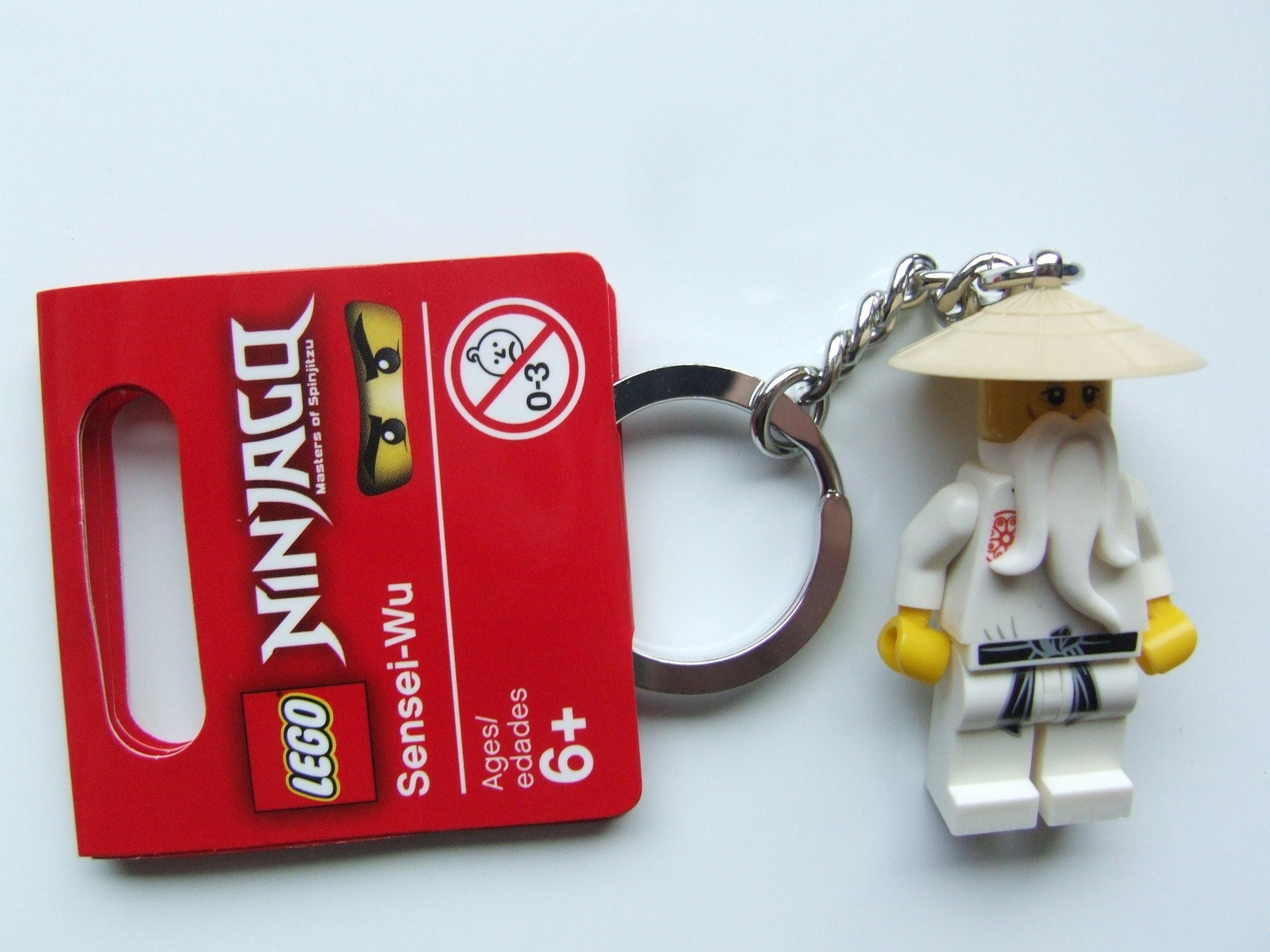 LEGO Ninjago Keychain #853101 Sensei Wu- Buy Online in Burkina Faso at  burkinafaso.desertcart.com. ProductId : 4537824.