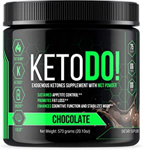 Ketodo Keto Base Bhb Salts Beta Hydroxybutyrate Exogenous Ketones Supplement With MCT Oil Powder Perfect To Boost Ketone Production To Get In Ketosis Instant Chocolate Flavored Drink
