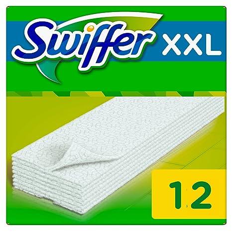 Swiffer toallitas secas para – Escoba aspiradora recambios 12 unidades – – Juego ...