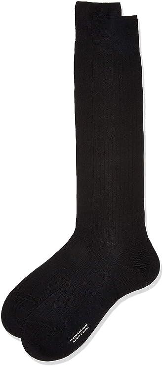 Pantherella Men's Merino Wool Rib Knee High Socks (1 Pair) by Pantherella