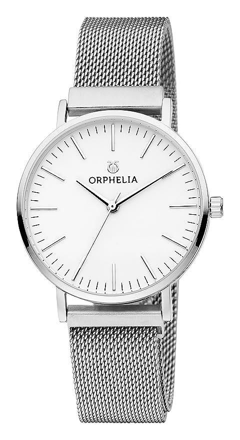 Magnetische Armbanduhr Analog Herren Edelstahl Orphelia Unico Schnalle 3RqA54jL