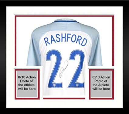 43f054aecd4 Framed Marcus Rashford England National Team Autographed 2016-2017 Home  Jersey - ICONS - Fanatics Authentic Certified at Amazon's Sports  Collectibles Store