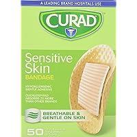 Curad Sensitive Skin Bandages Spots 50 Each