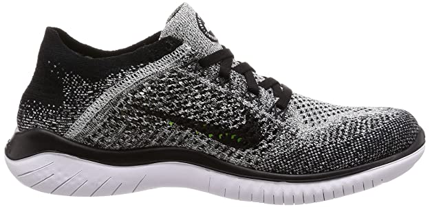 lowest price 76bc6 fcb64 ... low price amazon nike free rn flyknit 2018 womens running shoe 5.5 b us  black white