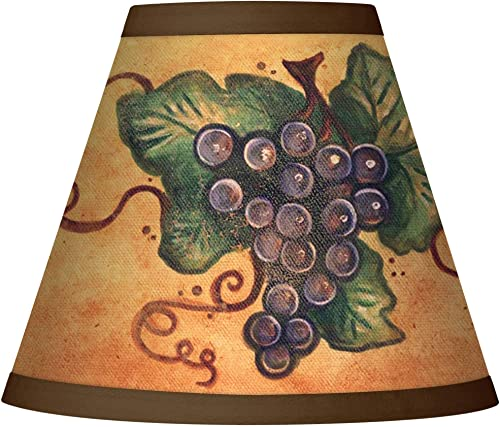 Sienna Grape Giclee Set of Four Shades 3x6x4 3 4 Clip-On – Giclee Glow