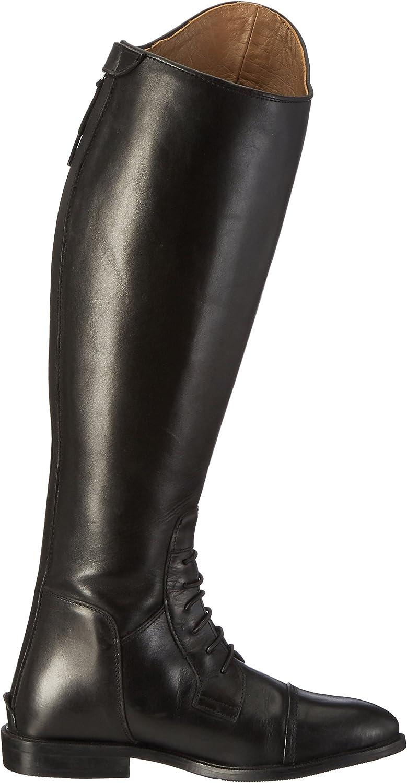 Lederreitstiefel Unisex 36-44 Pantalon Mixte Taille 43 Standardl/änge//-Weite Noir HKM SPORTS EQUIPMENT HKM 6550 Reitstiefel Spain