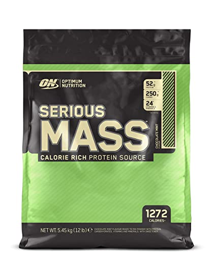 Optimum Nutrition Serious Mass peso - 5.45 kg