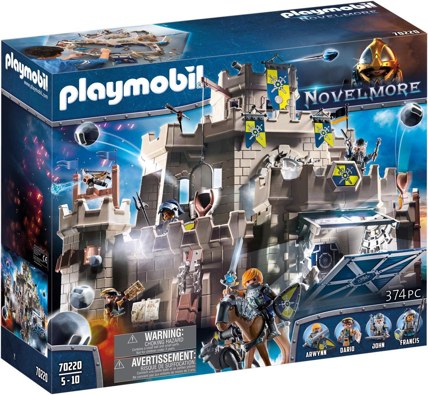 PLAYMOBIL Novelmore Gran Castillo de Novelmore, Entre 5 y 10 Años de edad (70220)