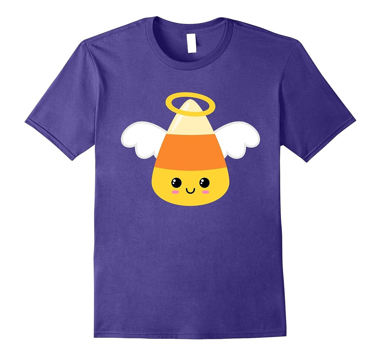 Angel Emoji Candy Corn Emoji T-Shirt-FL