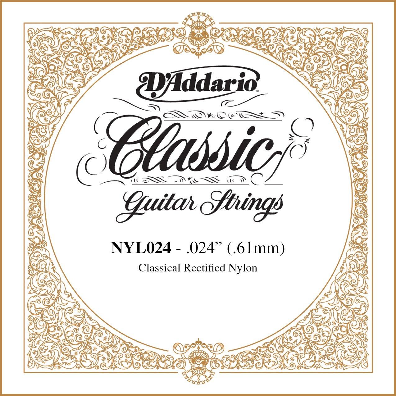 Daddario Nyl024 - Cuerda guitarra española: Amazon.es ...
