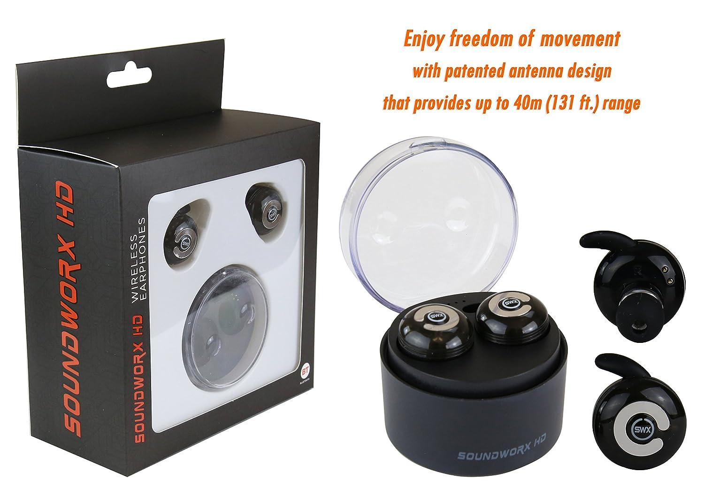 Amazon.com: Alcance Extra Largo (hasta 40 mts) Bluetooth V4.1 Certificado Audifonos con Aislamiento de Ruido, Microfono y Cargador: Home Audio & Theater