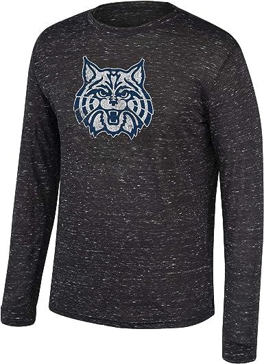 Top of the World NCAA Mens Clemson Tigers Poly Space Dye Invader Long Sleeve Tee Black Medium