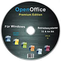 Open Office Premium Edition für Windows 10-8-7-Vista-XP (32 & 64 Bit) [Neueste Version]