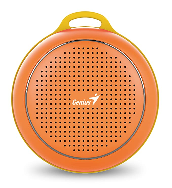 Review Genius SP-906BTOrange Outdoor Bluetooth