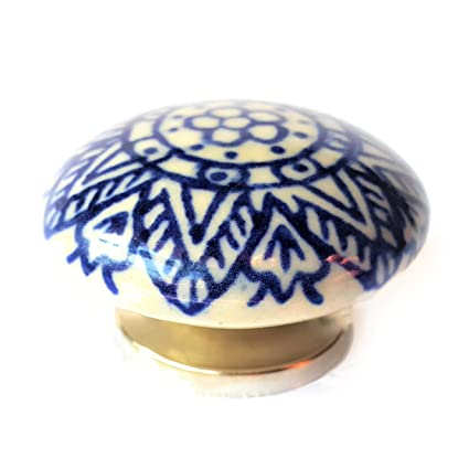 Set di 6 pomelli in ceramica di fff - Armadietto cucina ...