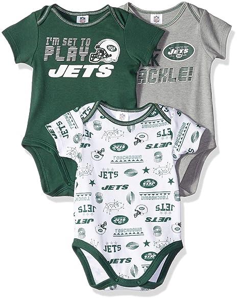 9d11dcb7 Amazon.com : NFL New York Jets Unisex-Baby 3-Pack Short Sleeve ...