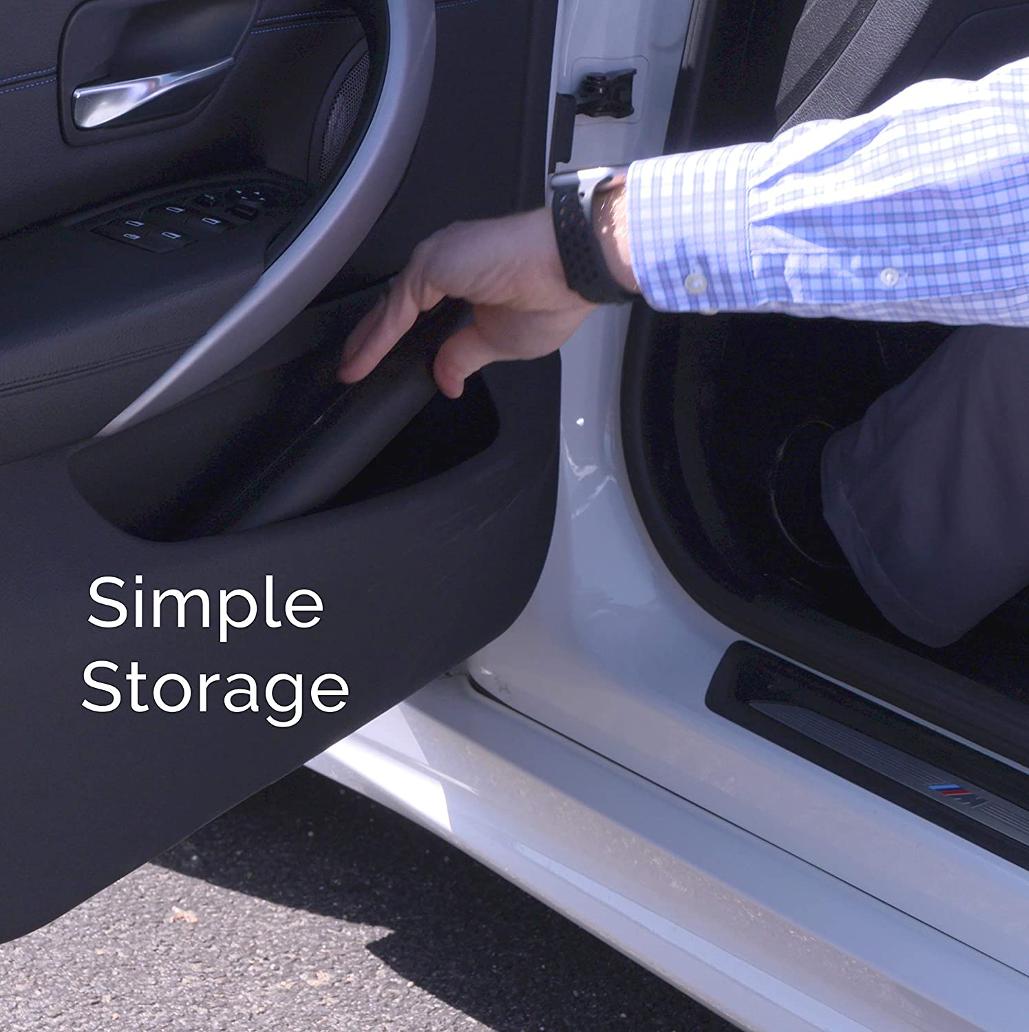 Extendable to Fit All Car and Truck Doors with High Energy Magnets Prevents Dents 2-Pack Door Ding Protector for 2 Doors Scratches and Dings Dent Prevent Removable Magnetic Car Door Protector