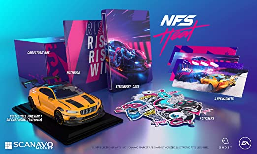 Need For Speed Heat Collectors Edition No Game Included