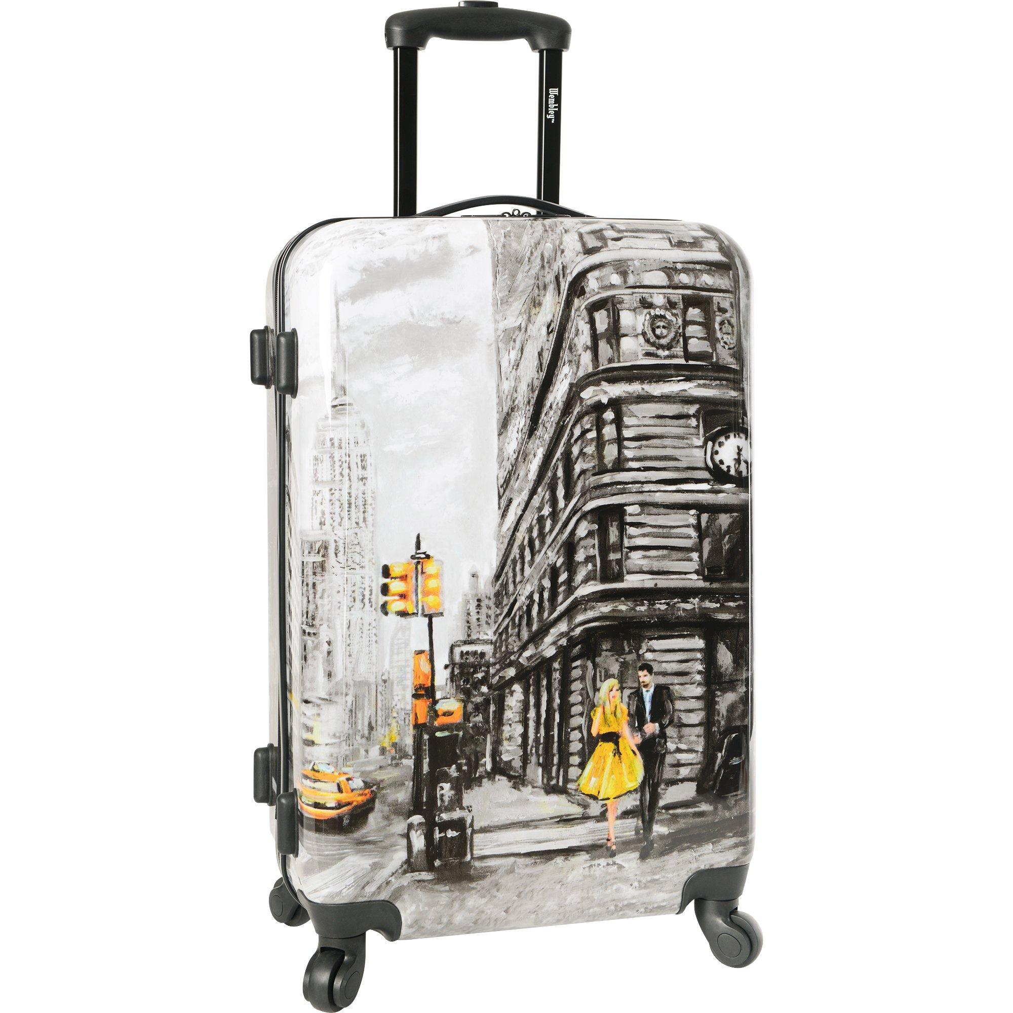 Wembley 20'' Hardside Carry-on 4wheel Spinner Luggage, NYC