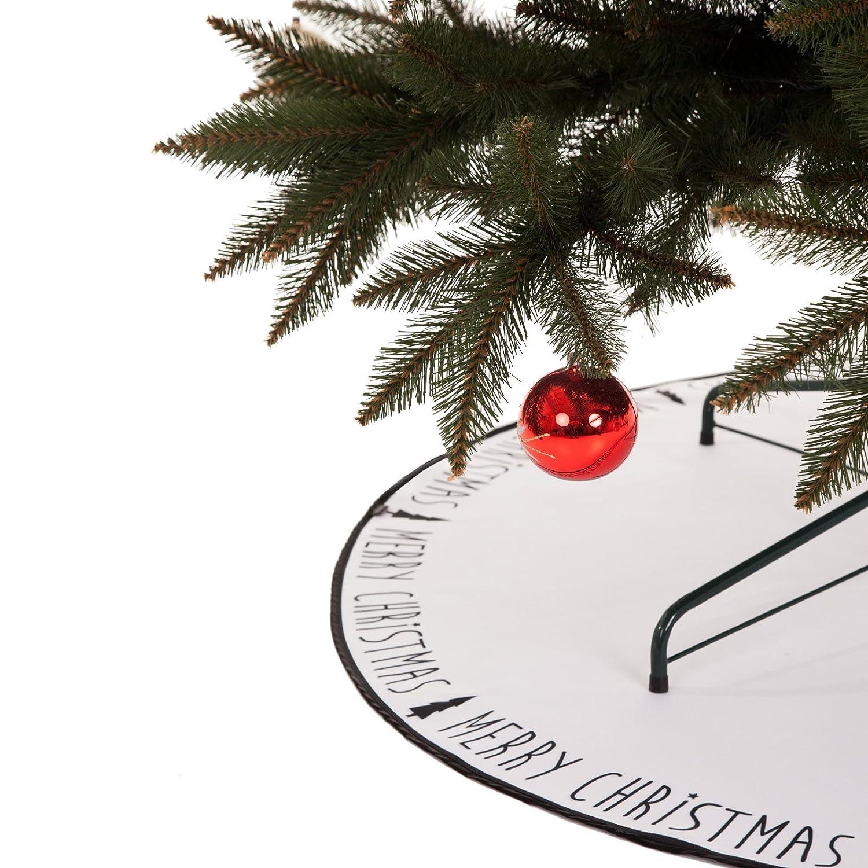 coopz Weihnachten Weihnachstdecke Christbaumdecke Schutz Unterlage Weihnachtsbaum xmas Decke