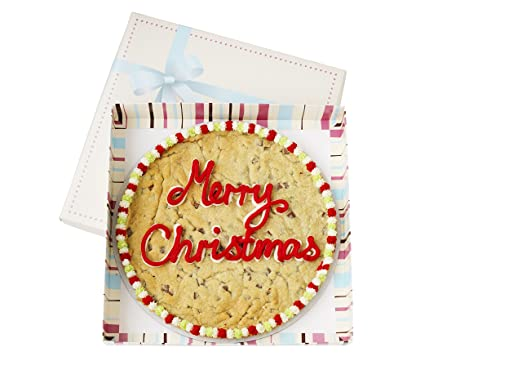 Millie S Cookies Merry Christmas Giant Cookie White Chocolate