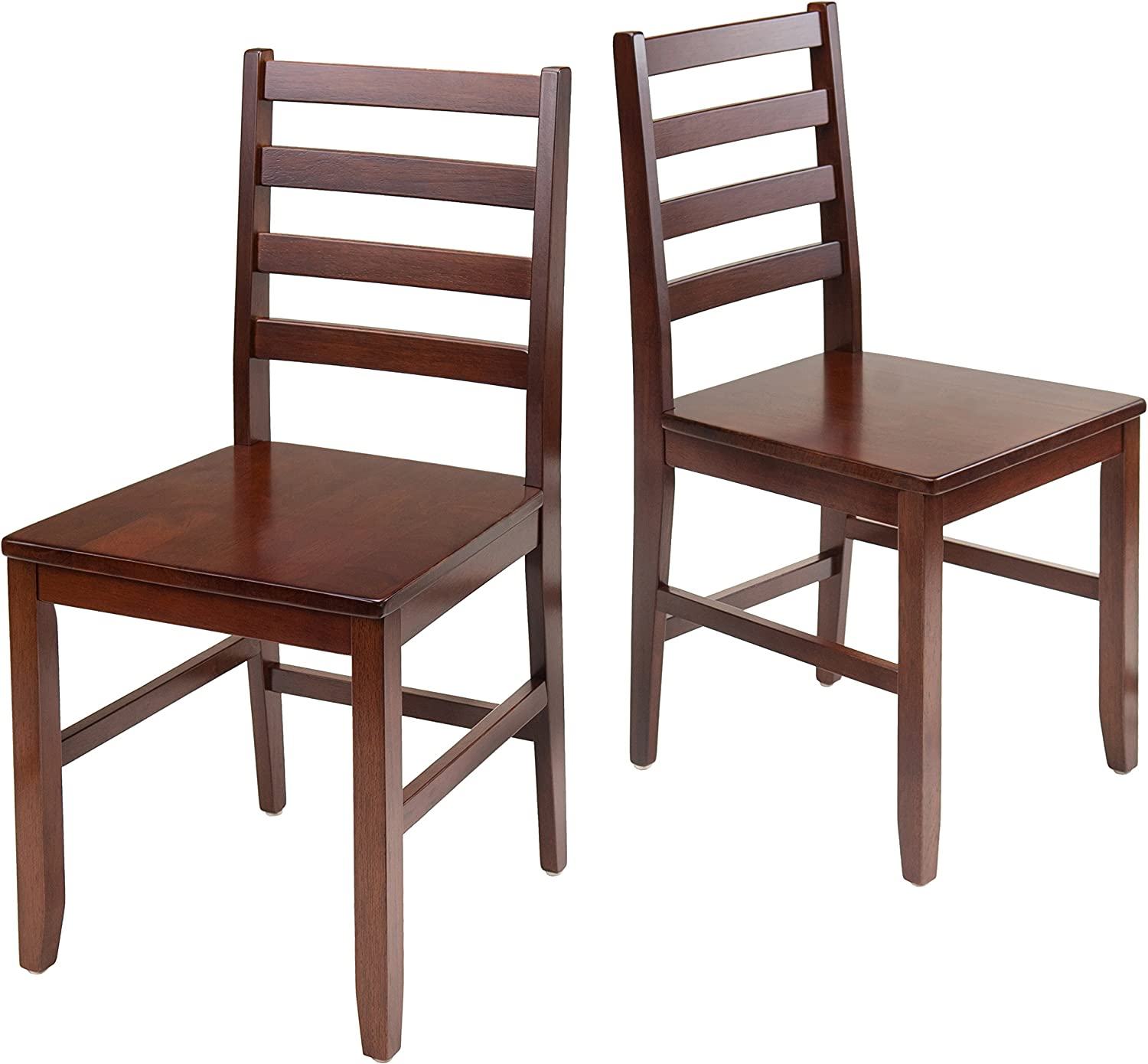Winsome Wood 94236 Hamilton Seating, Antique Walnut